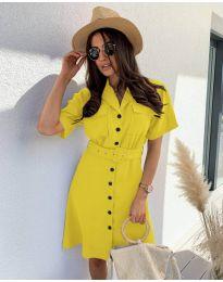 Šaty - kód 742 - žltá