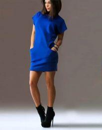 Šaty - kód 1585 - 3 - modrá