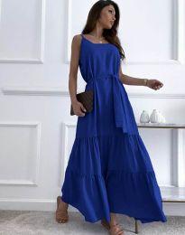 Šaty - kód 2578 - tmavomodrá