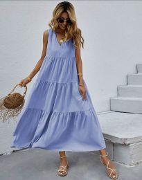 Šaty - kód 8149 - svetlo modrá