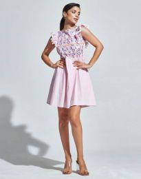 Šaty - kód 1482 - 1 - ružová