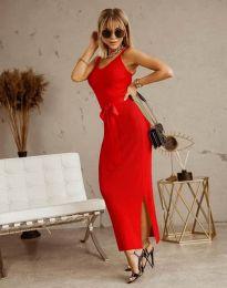Šaty - kód 6166 - červená