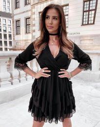 Šaty - kód 0545 - čierná