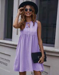 Šaty - kód 0286 - svetlo fialová