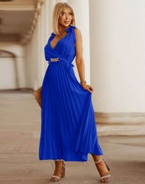 Šaty - kód 5290 - tmavomodrá