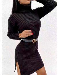 Šaty - kód 6867 - čierná