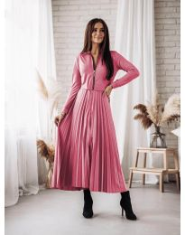 Šaty - kód 1544 - ružová