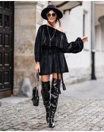 Šaty - kód 324 - čierná