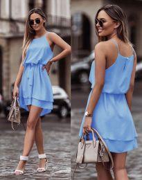 Šaty - kód 2104 - svetlo modrá