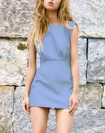 Šaty - kód 1233 - svetlo modrá