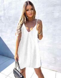 Šaty - kód 4189 - biela
