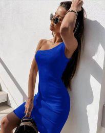 Šaty - kód 6412 - modrá