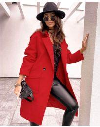 Kabát - kód 7278 - červená