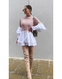 Šaty - kód 1188 - ružová