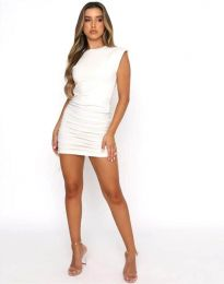 Šaty - kód 11985 - biela
