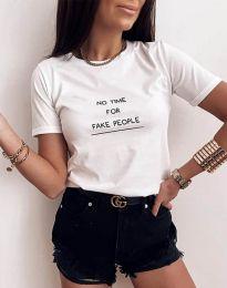 Tričko - kód 2279 - biela