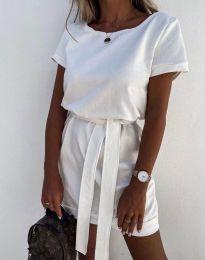 Šaty - kód 6737 - biela