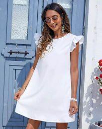 Šaty - kód 6261 - biela