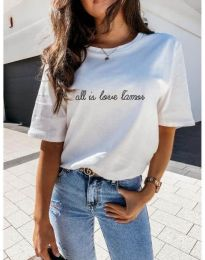 Tričko - kód 36755 - biela