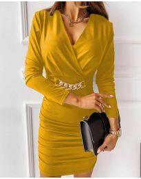 Šaty - kód 8999 - žltá