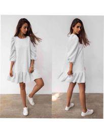 Šaty - kód 784 - biela
