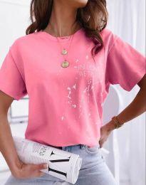 Tričko - kód 0401 - ružová