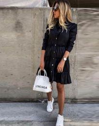Šaty - kód 1366 - 1 - čierná