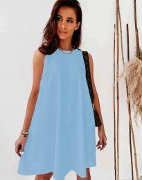 Šaty - kód 9862 - svetlo modrá
