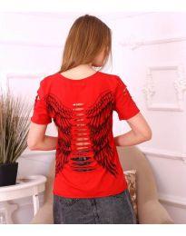 Tričko - kód 3567 - červená