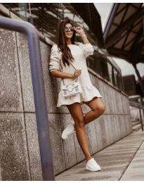 šaty- kód 11512 - biela