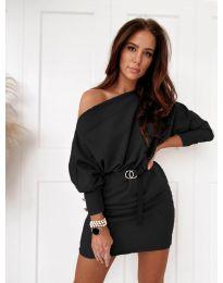 Šaty - kód 4442 - čierná