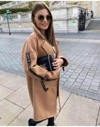 Kabát - kód 8757 - hnedá