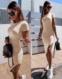 Šaty - kód 8391 - bežová