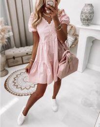 Šaty - kód 8292 - svetlo ružová