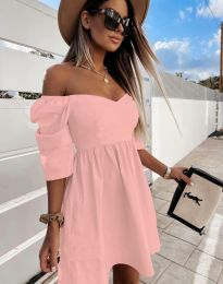 Šaty - kód 7413 - ružová