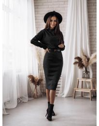Šaty - kód 7719 - čierná