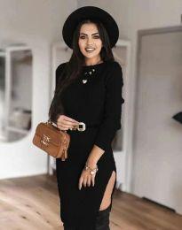 Šaty - kód 0956 - čierná