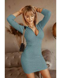 Šaty - kód 3107 - tyrkysová