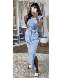 Šaty - kód 7049 - modrý