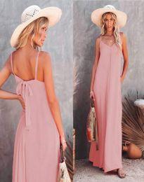 Šaty - kód 4673 - svetlo ružová