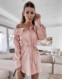 Šaty - kód 1457 - ružová
