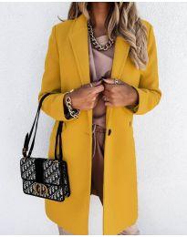 Kabát - kód 7709 - hořčičná
