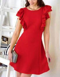 Šaty - kód 7111 - červená