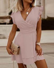 Šaty - kód 5654 - svetlo ružová