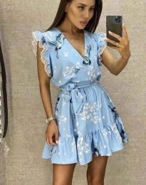 Šaty - kód 8125 - svetlo modrá