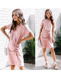 Šaty - kód 835 - ružová