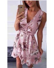 Šaty - kód 739 - ružová