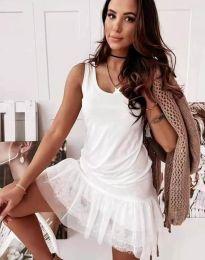 Šaty - kód 2994 - biela