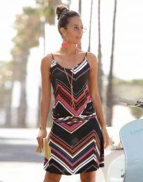 Šaty - kód 1256 - 1 - farebná