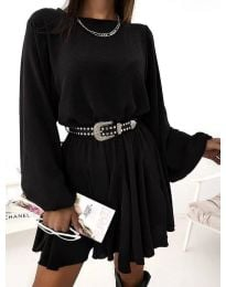 Šaty - kód 5088 - čierná